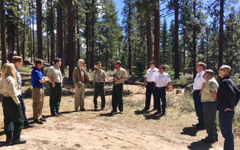 Tahoe Fire Chiefs and Rep. McClintock